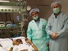 Unik�tn� operacetransplantace p�ti org�n� najednou. (19. prosince 2014)