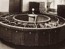 Československá rarita: kruhový paster na lahvové pivo - 30. léta 20. století
