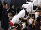 Belgický král Philippe s manželkou Mathilde.