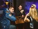 Fanoušci do backstage patří, říká Adam Karlík (vlevo) a Roman Procházka.
