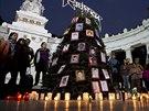Kvůli případu 43 zmizelých studentů je Mexico už téměř tři měsíce na nohou. (16. prosince 2014)