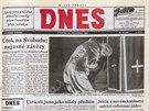 Vánoční MF DNES v roce 1992