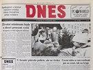 Vánoční MF DNES v roce 1993