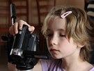 Během Filmfára děti pracují v malých skupinách, k dispozici mají pět kamer.