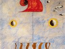 Joan Mir�: Hlava katal�nsk�ho zem�d�lce (1925)
