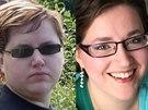 Toto je má noční můra. Fotka vlevo je z roku 2008. Dnes nechápu, že mi nevadilo tak vypadat
