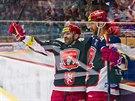 Radost hokejistů Hradce Králové