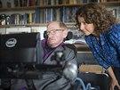 Inženýrka Lama Nachmanová ze společnosti Intel vedla tým specialistů vyvíjejících nový systém ovládání a komunikace pro Stephena Hawkinga.