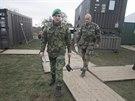 Armáda zřídila na místě i centrum řízení, kde jsou všechny složky integrovaného záchranného systému.