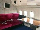 Prezidentský speciál Tupolev Tu-154M, kterým létal Václav Havel, je zachován do posledního detailu a to včetně interiéru.