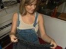 Emma Smetana ukazuje, v jakých šortkách kdysi randila.