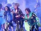 Z pražské premiéry muzikálu Mamma Mia! (12. prosince 2014)