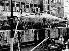 Německá ponorka poháněná Walterovou turbínou U1406