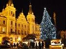 Pern�týnské nám�stí ve Váno�ním hávu