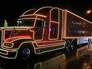 Váno�ní kamion Coca Cola ve Vrchlabí