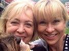 Kateřina Hrachovcová a její maminka Alena
