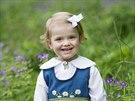 Švédská princezna Estelle (6. června, 2014)