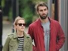 Emma Watsonová a Matthew Janney (Londýn, 22. dubna 2014)