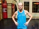 Dalibor Gondík před boxerským soubojem