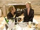 Jason Lewis a Kim Catrallová ve filmu Sex ve městě (2008)