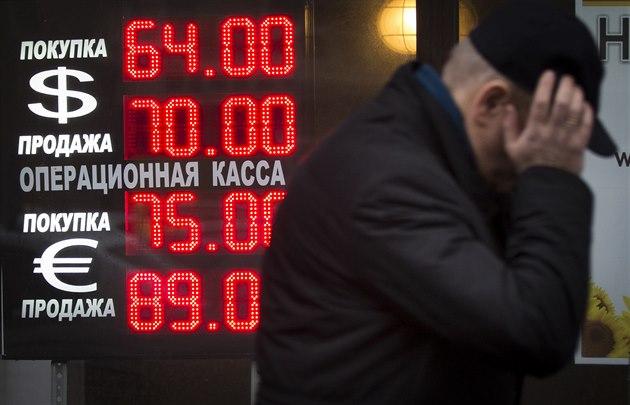 Sm�nárna v ruském hlavním m�st� (16. prosince 2014)