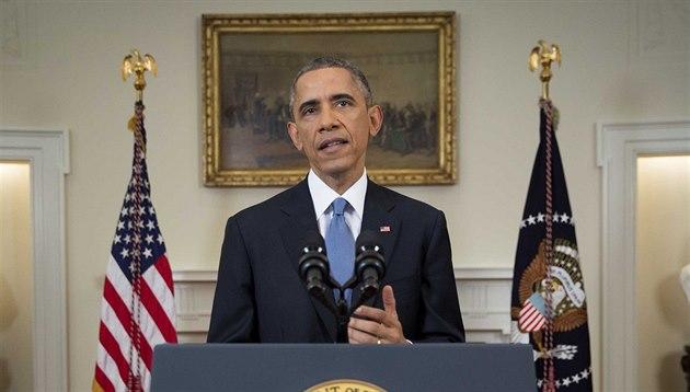 Americký prezident Barack Obama oznamuje zm�nu politiky v��i Kub� (17. prosince...