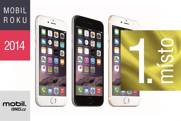 MOBIL ROKU 2014, 1 místo - iPhone 6