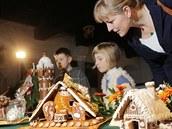 Vyhlá�ení vít�z� sout�e o nejhez�í váno�ní perník v prostorách Pivovarského...