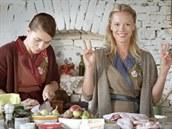 Linda s Katkou porcují kachny