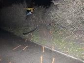 Vůz řízený v opilosti naboural další čtyři auta.