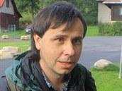 Jaromír Bláha, ekologický aktivista z Hnutí Duha.