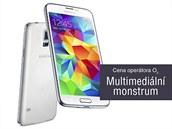 Cena operátora O2 - Multimediální monstrum - Samsung Galaxy S5