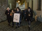 T�etí výro�í smrti Václava Havla si v Brn� p�ipomn�ly dv� stovky lidí (18....
