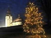 Vánoční atmosféra není jen doménou větších měst. Navodit se jí pokusili i ve...
