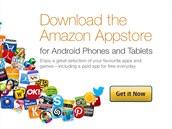 Takto Amazon láká na sv�j aplika�ní portál