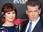 Oba proslavil James Bond. Pierce Brosnan se však s Olgou Kurylenko nepotkal v roli agenta Jejího veličenstva, ale ve filmu The November Man.