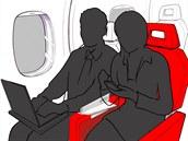 Nová skládací podru�ka Soarigami má zabránit tahanicím v letadle o to, kdo si...
