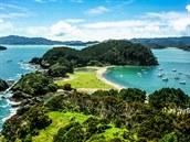 Nový Zéland, Bay of Islands (Zátoka ostrov�)