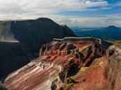 Nov� Z�land, Mt. Tarawera