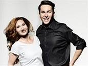 Tomá� Hauptvogel a Monika Ka�parová v kalendá�i Je Prima být spolu.