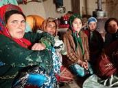 Povodně v turkmenské vesnici zcela zbořily 39 z 50 domů (Afghánistán, 27. listopadu 2014).