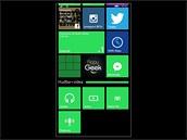Displej smartphonu Nokia Lumia 830