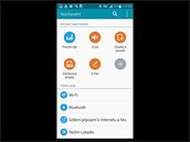 Displej phabletu Samsung Galaxy Note 4