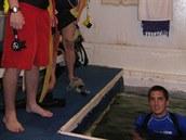 """""""Předsíň"""" podvodní laboratoře Jules' Undersea Lodge"""