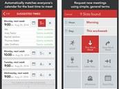 Aplikace Meekan Smart Group Scheduling vám pomůže sjednávat si schůzky s uživateli různých kalendářů.