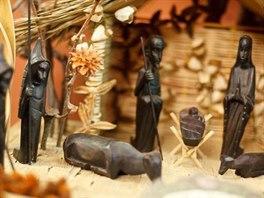 Africký betlém i další neobvyklá díla jsou k vidění v Muzeu Karlova mostu