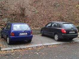 Takhle vypadá parkování na pražském Smíchově
