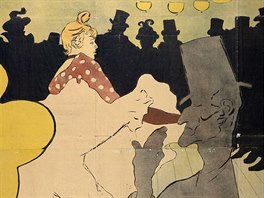 Henri de Toulouse-Lautrec: plak�t Moulin Rouge - La Goulue (1891)