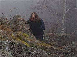 Z natáčení klipu Tráva