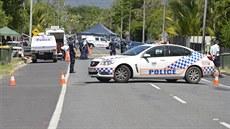 Australská policie na míst� �inu v Cairns